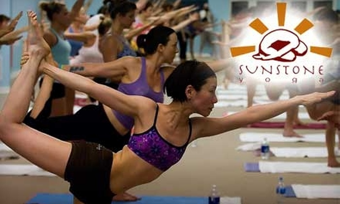 Sunstone Yoga - Multiple Locations: $30 for 30 Days of Unlimited Yoga Classes at Sunstone Yoga ($155 Value)