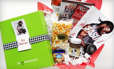 2011 Alabama Football Box (a $65 value) - Cheeriodicals in