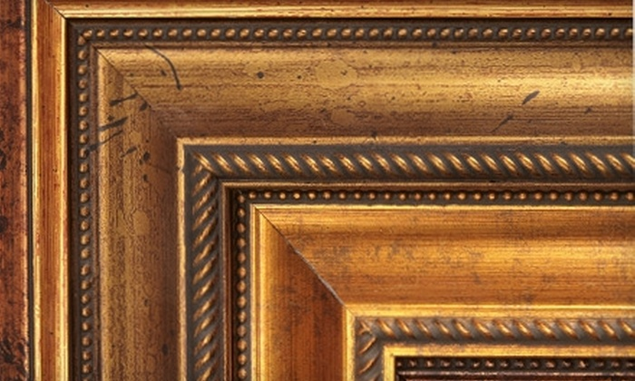 Duplantier Fine Framing - Central Business District: $50 for $100 Toward Custom Framing at Duplantier Fine Framing