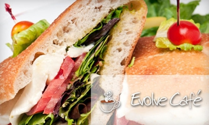 Evolve Café - Riverside: $5 for $10 Worth of Coffee, Bistro Fare, and More at Evolve Café