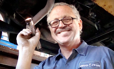 Full-Service Oil-Change Package Plus 20% Off Brake Repair - AutoTech in Las Vegas