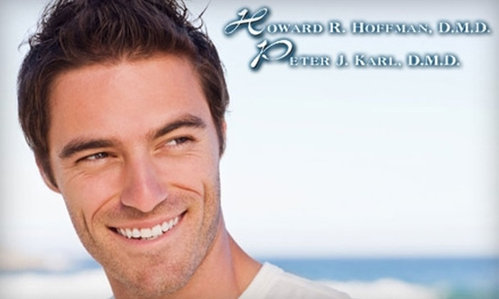 Hoffman Karl DMD - Bay Terrace: $49 for Dental Exam, Cleaning, and X-Rays ($375 Value) or $125 for Zoom! Teeth Whitening ($750 Value) from the Offices of Drs. Howard Hoffman and Peter Karl, D.M.D.s