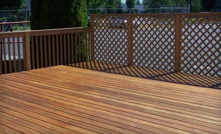$50 Groupon for Olympic Exterior Stain Products at Miller Paint Company - Miller Paint Company in Kent