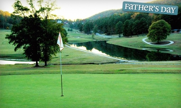 Heritage Golf - Oneonta: $38 for 18 Holes of Golf for Two, Plus Cart, at Heritage Golf in Oneonta (Up to $76 Value)
