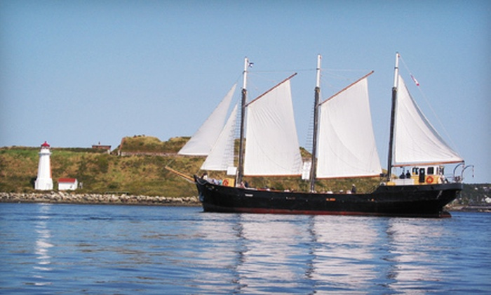 """Tall Ship Silva"" - Downtown Halifax: Harbour Cruise for Two Adults or a Family of Up to Six Aboard ""Tall Ship Silva"" (Up to 55% Off)"