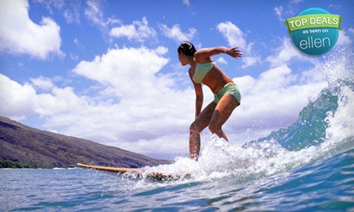 North Shore Surf Adventures - Multiple Locations: $30 for a Two-Hour Group Surf Lesson from North Shore Surf Adventures ($60 Value)