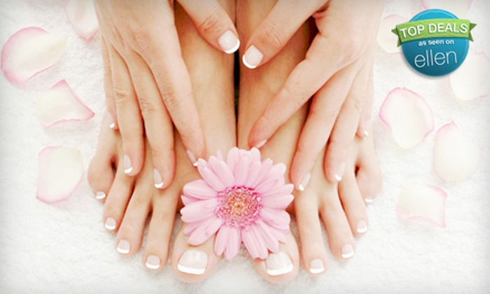 Super Spa - Downtown Wheaton,Wheaton,Wheaton Forest: $28 for a Color-Gel Manicure and a Regular Pedicure at Super Spa in Silver Spring ($57 Value)