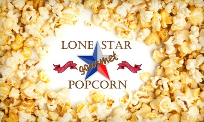 Lonestar Gourmet Popcorn - Flower Mound: $10 for $20 Worth of Gourmet Popcorn and Confections at Lonestar Gourmet Popcorn in Flower Mound