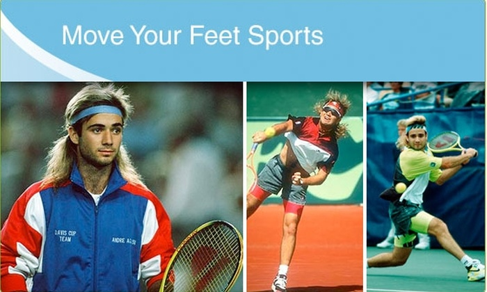 Move Your Feet - Chicago: $35 for 3 Hours of Tennis Lessons (53% Off $75 Value)