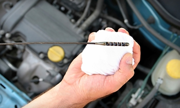 Leehigh Autobody and Service Center - Dulles Trade Center: $25 for an Oil Change, Tire Rotation, and Brake Inspection at Leehigh Autobody and Service Center in Dulles ($50.95 Value)
