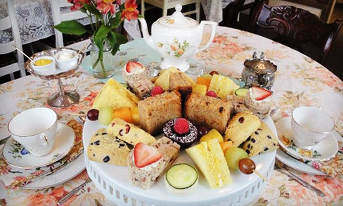 The Mad Hatter's Tea Room - St. Thomas: Royal High Tea for Two or Four at The Mad Hatter's Tea Room in Orwell (Up to 71% Off)