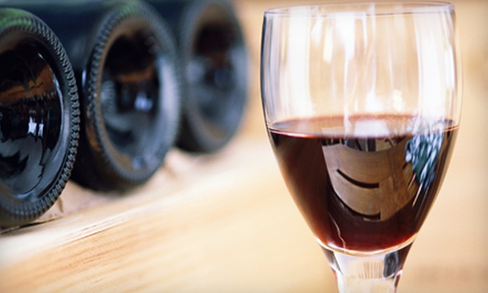 Kestrel Vintners - Multiple Locations: Wine Tasting, Charcuterie Plate, and Souvenir Glasses for Two at Kestrel Vintners. Three Locations Available.