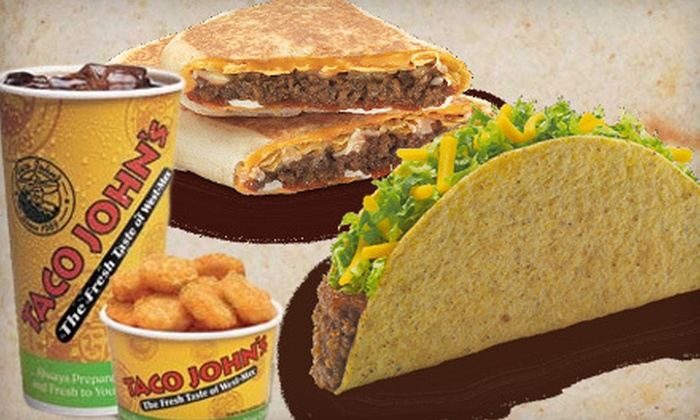 Taco John's  - Wolverine: $4 for $8 Worth of Mexican-American Fare at Taco John's