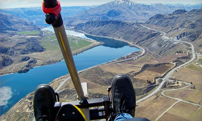 Adventure Aviation Trike Flights - Chelan: $60 for Discovery Flight from Adventure Aviation Trike Flights in Chelan ($120 Value)