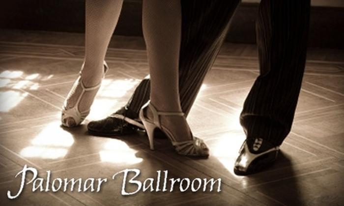 Palomar Ballroom - Downtown Santa Cruz: $24 for a Four-Class Dance Series ($48 Value) or $40 for Eight Drop-In Dance Classes (Up to $80 Value) at Palomar Ballroom