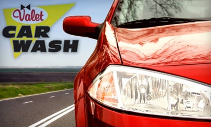 Valet Car Wash - Multiple Locations: $25 for $50 Worth of Care Washing Services at Valet Car Wash