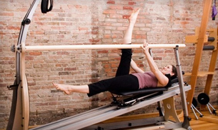 Gyrotonic Ann Arbor & The Movement Center - Central Area,Jackson-huron Neighborhood Association,Downtown: Four- or Six-Session Pilates and Gyrokinesis Fitness Packages at Gyrotonic Ann Arbor & The Movement Center (Up to 69% Off)