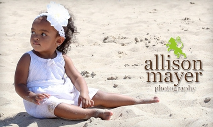 Allison Mayer Photography - Carmel: $40 for a One-Hour Portrait Session and DVD from Allison Mayer Photography
