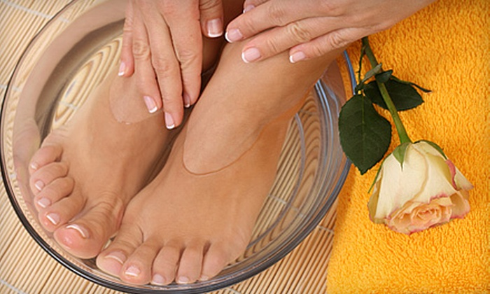 Camron Nico Salon - Dyer: $35 for a Spa Mani-Pedi at Camron Nico Salon in Dyer ($70 Value)