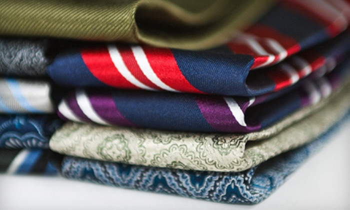 Jack Franklin: Silk Ties from Jack Franklin (Up to 58% Off). Two Options Available.