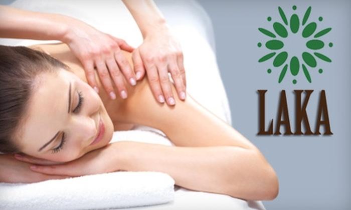 Laka Skin Care - Ala Moana - Kakaako: $50 for 60-Minute Massage on Amethyst Hot Gem Stone Mat at Laka Skin Care