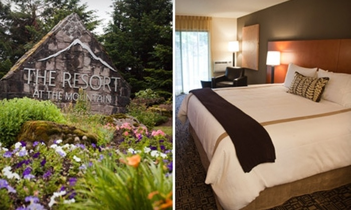 The Resort at The Mountain - Mount Hood: $122 for a One-Night Stay for Two at Mt. Hood at The Resort at The Mountain plus a $40 Credit Toward Altitude Restaurant (Up to $331 Value)