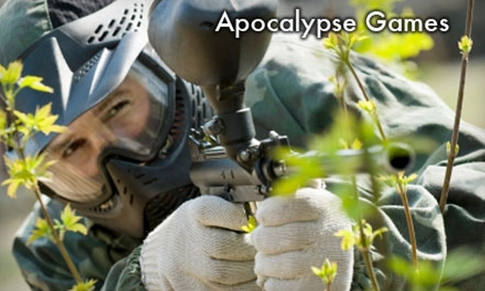 Apocalypse Games - Angola: $10 for Four Hours of Paintball Admission, Equipment Rental, and All-Day Air at Apocalypse Games in Angola