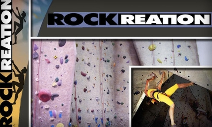 Rockreation - Multiple Locations: $99 for One Week of Reach Climbing Camp for Kids