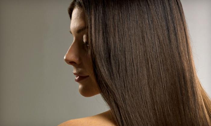 Canary Crystal Salon and Spa - New Albany: $150 for a Brazilian Blowout Zero at Canary Crystal Salon and Spa in New Albany, IN ($300 Value)