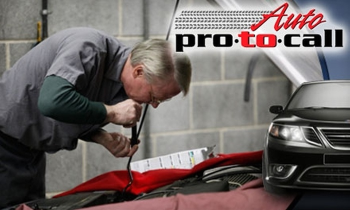 Auto Pro To Call or CarFix - Multiple Locations: $35 for an Oil Change, Oil-Filter Change, Two Wiper Blades, and a State Emissions Inspection at Auto Pro to Call or CarFix ($85 Value)