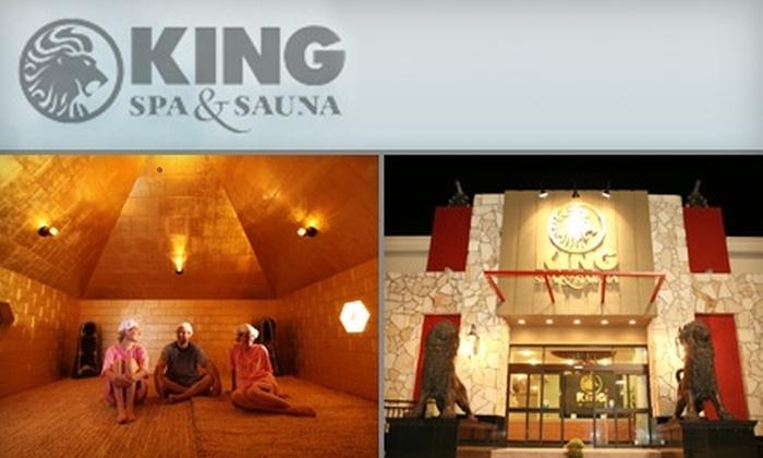 King Spa & Sauna - Dallas: $10 for Admission to King Spa & Sauna