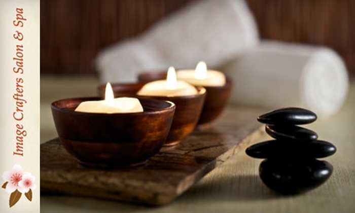 Image Crafters Salon & Spa - Whitby: $49 for 60-Minute Massage and Your Choice of Reiki Treatment, Foot Massage or Scalp Massage at Image Crafters Salon & Spa in Whitby ($113 Value)