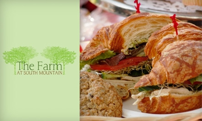 The Farm Kitchen at South Mountain - South Mountain: $10 for $20 Worth of Organic Lunch Fare at The Farm at South Mountain