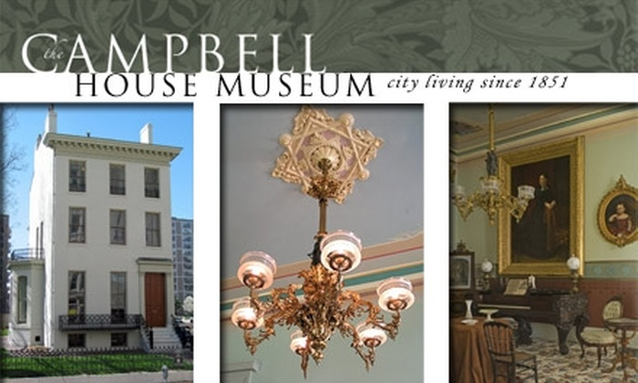 Campbell House Museum - Downtown St. Louis: $3 for Admission to Campbell House Museum