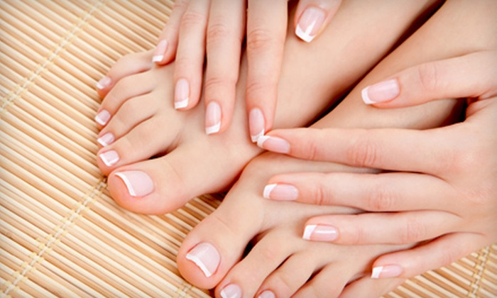 Studio 11 Salon and Day Spa - Cicero: Signature Peppermint Facial, One Mani-Pedi, or Three Mani-Pedis at Studio 11 Salon and Day Spa (Up to 52% Off)