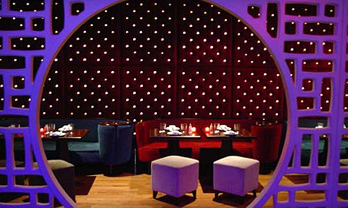 Vango Lounge & Sky Bar - Center City West: $35 for Dinner for Two at Vango Lounge & Sky Bar (Up to $70 Value)