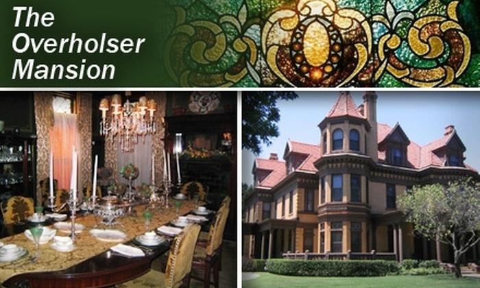 Henry Overholser Mansion - Central Oklahoma City: $4 for Two Adult Passes to Henry Overholser Mansion