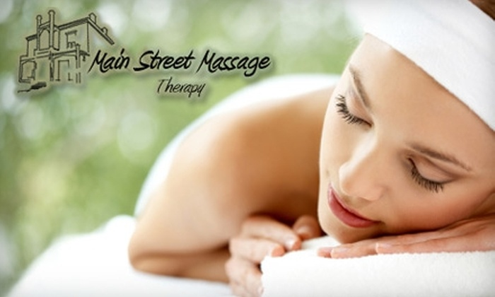 Main Street Massage - Historic Hudson: $30 for a One-Hour Relaxation Massage from Main Street Massage ($70 Value)