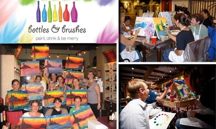 Bottles & Brushes - Chicago: $20 for $40 Toward Any Event at Bottles & Brushes