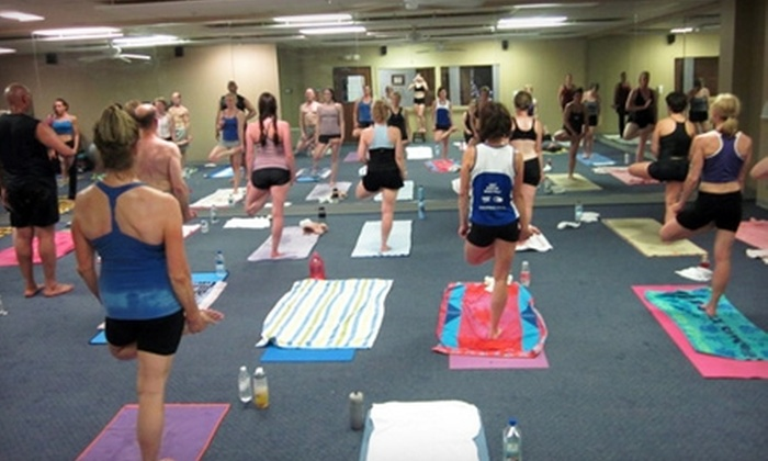 Wellness Forum Hot Yoga - Worthington: Wellness Forum Membership or Yoga Classes at Wellness Forum Hot Yoga in Worthington. Two Options Available.