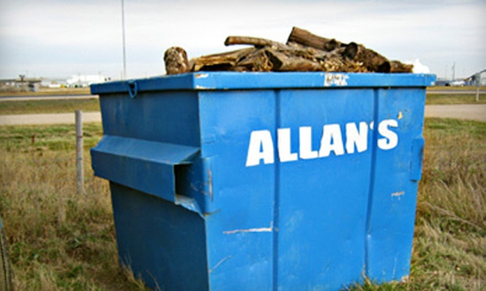 Allans Disposal Services Ltd - C.N. Industrial: $139 for a One-Month Rental of a 6-Yard Disposal Bin from Allans Disposal Services Ltd ($279.40 Value)