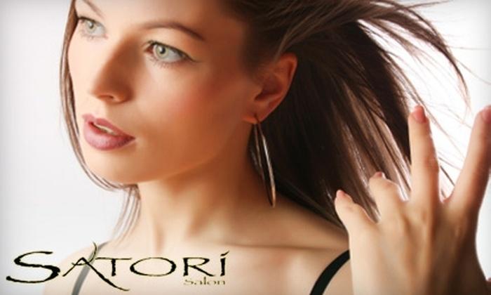 Satori Salon - Multiple Locations: $50 for $100 Worth of Services at Satori Salon