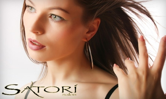 Satori Salon - Afton Oaks/ River Oaks: $50 for $100 Worth of Services at Satori Salon