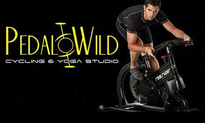 Pedal Wild Cycling & Yoga - Spring Park: $39 for One Month of Unlimited Classes at Pedal Wild Cycling & Yoga in Spring Park ($89 Value)