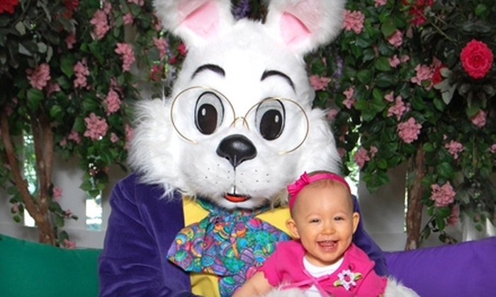 WorldWide Photography - Multiple Locations: $18 for Photos with the Easter Bunny and Print Package from WorldWide Photography ($35.99 Value)