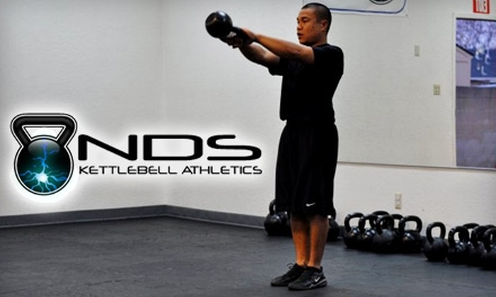 NDS Kettlebell Athletics - Lakewood: $99 for Four Weeks of Group Classes and One-on-One Training Session at NDS Kettlebell Athletics in Lakewood ($425 Value)