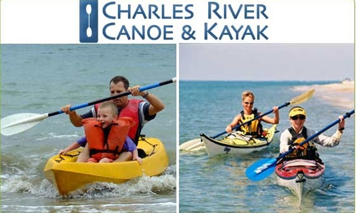 Charles River Canoe and Kayak - Boston: $25 for a $50 Groupon to Charles River Canoe & Kayak