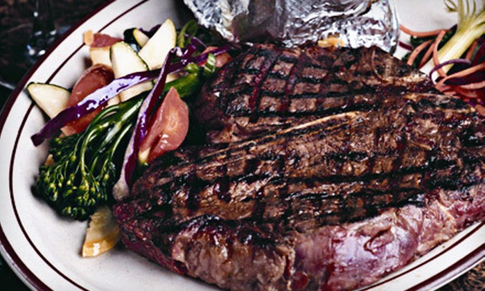 GW Hunters Steakhouse - Post Falls: $10 for $20 Worth of Steak-House Dinner Fare at GW Hunters Steakhouse in Post Falls