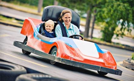 1 Unlimited Ride Bracelet and 1 Go-Kart Ride - Keansburg Amusement Park in Keansburg