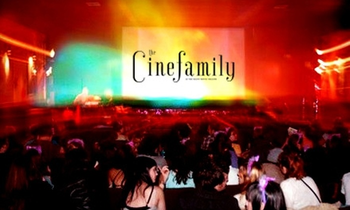 The Cinefamily - Melrose: $18 for Two Tickets, Two Orders of Popcorn, and Two Beverages at The Cinefamily